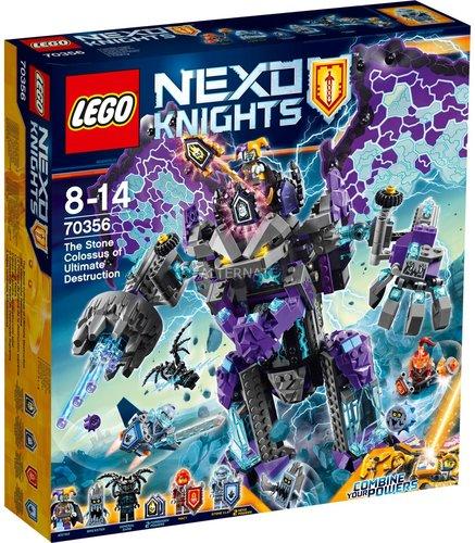 Lego Nexo Knights Der Stürmische Steinkoloss 70356