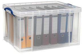 Really Useful Produc Box 84 Liter transparent