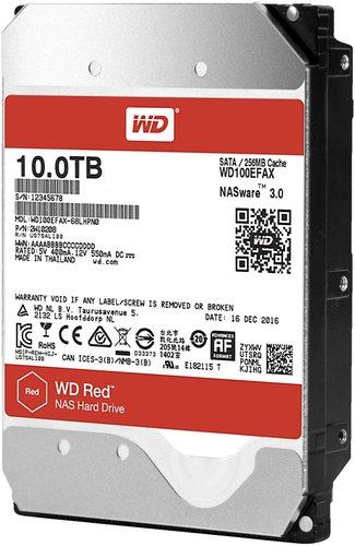 Western Digital Red SATA III 10TB (WD100EFAX)