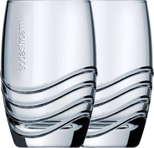 SodaStream Crystal Collection Trinkglas 4er-Set