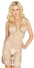 Leg Avenue 86092Q Kleid Schwarz XL-XXL Spitze Netz Übergröße Reizwäsche Dessous