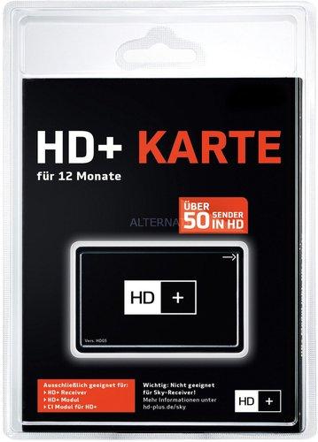 HD+ Karte 12 Monate SAT HD+ Empfang