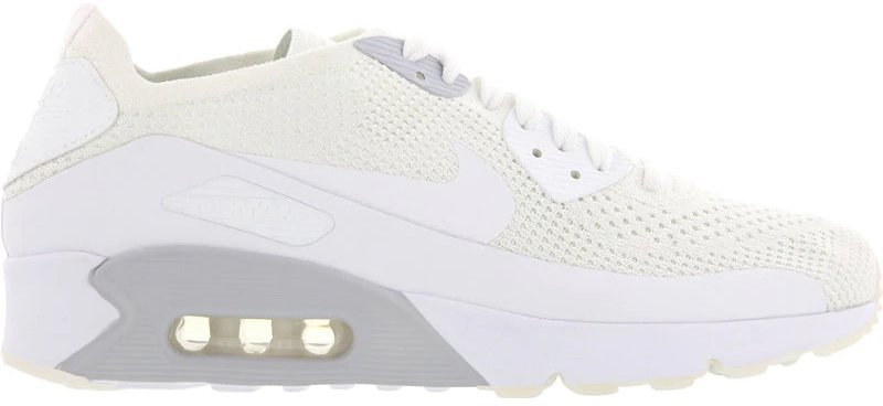 Nike Air Max 90 Ultra 2.0 Flyknit whitepure platinumwhitewhite