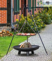 ACTIVA Grill Schwenkgrill Schwenker Merlin Ø 54,5 cm Holzkohlegrill Feuerschale