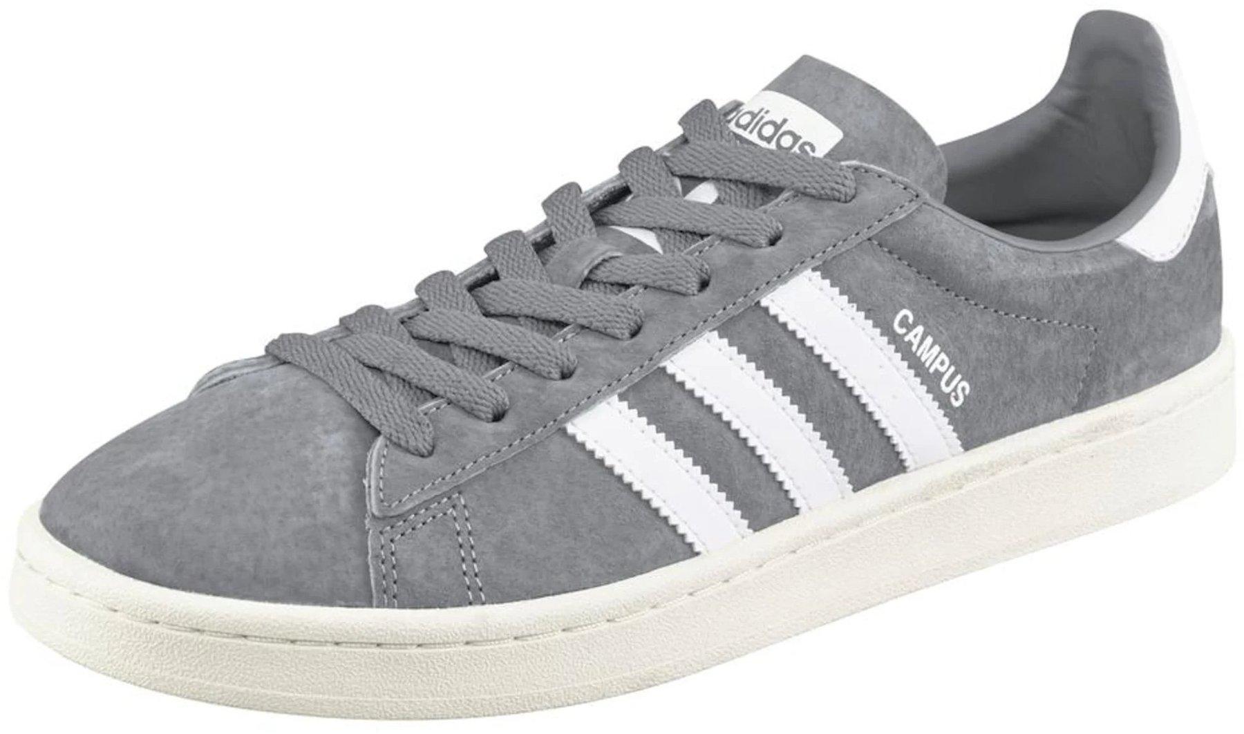 Adidas Campus grey threefootwear whitechalk white