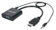 Manhattan Showers HDMI / VGA Konverter 151450