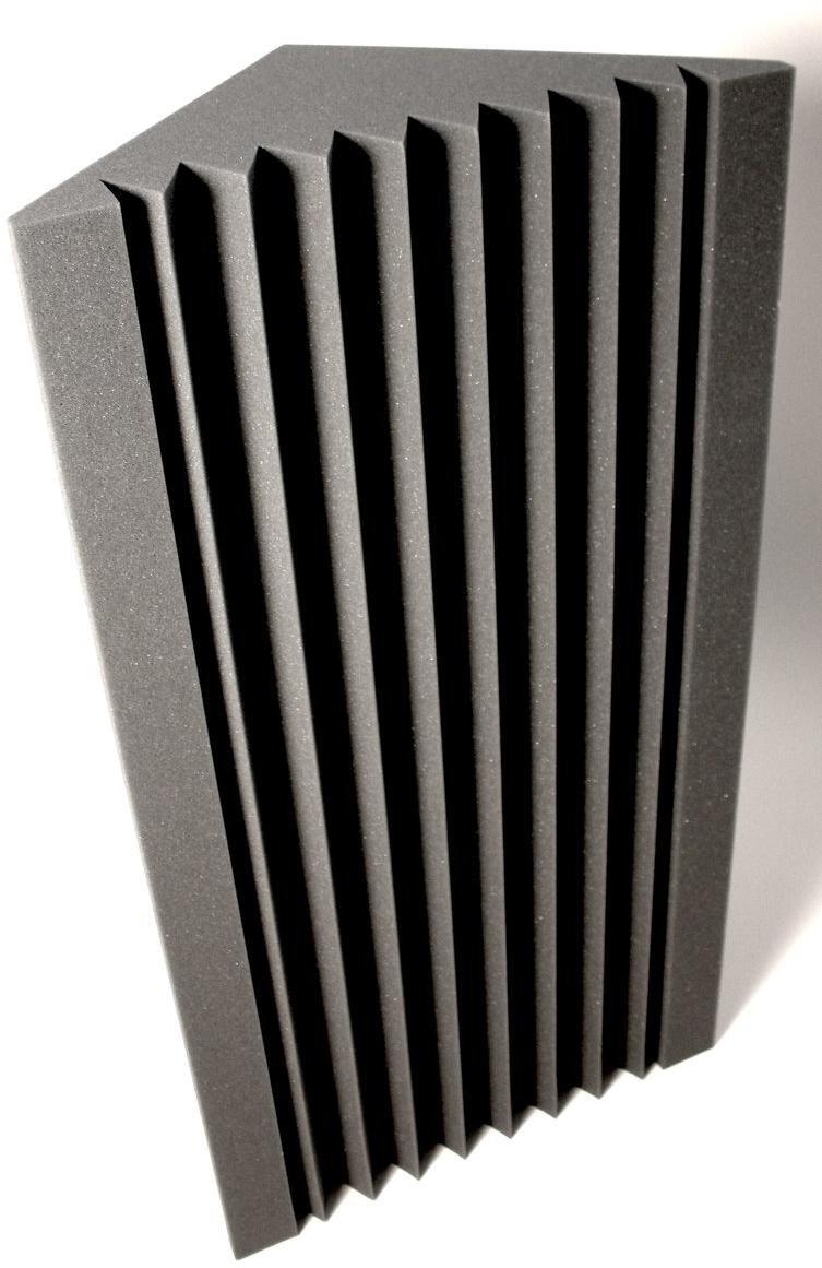 12X Bass Trap Akustikplatte Studio Schallabsorptionsschaum Panel Fliesen Wand