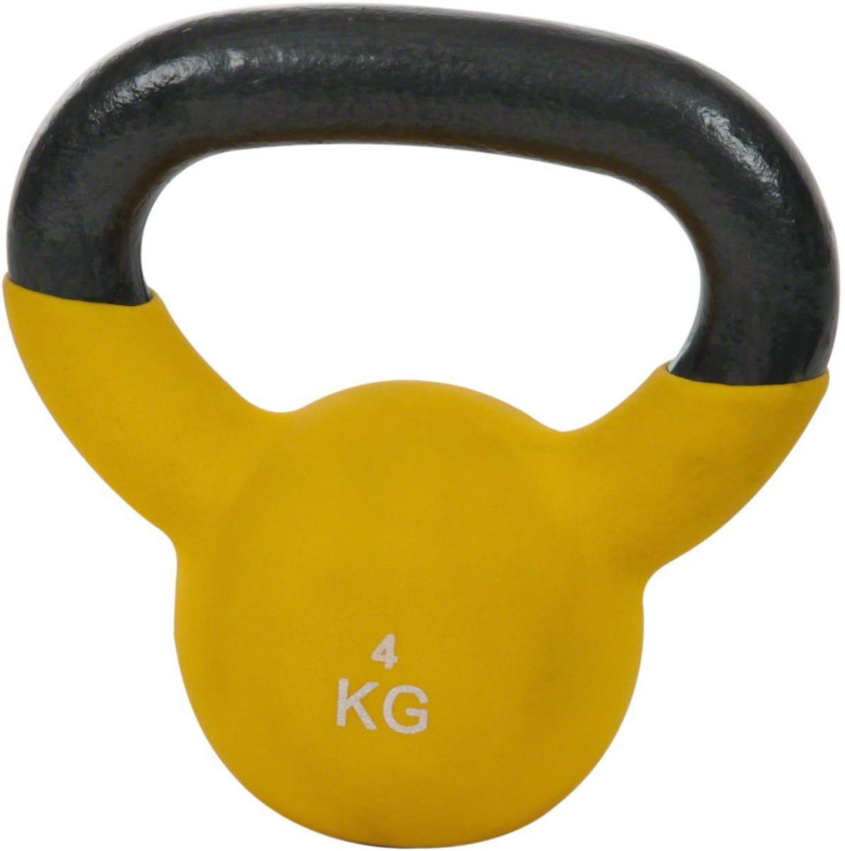 Kettlebell Kunststoff 2-20 kg Kugelhantel bodenschonende Schwunghantel