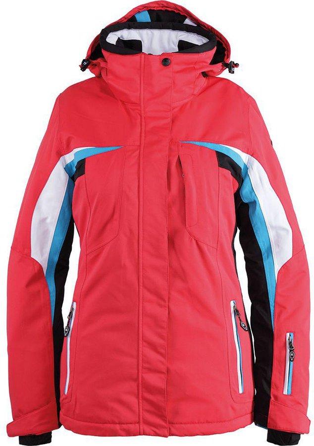 silber Damen Skijacke Killtec  Brinley Daunenoptik gelb weiß Gr 34 38