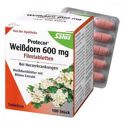 Salus Protecor Weißdorn 600 mg Filmtabletten (100 Stk.)