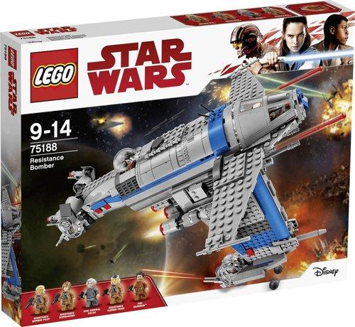 LEGO Star Wars - Resistance Bomber (75188)