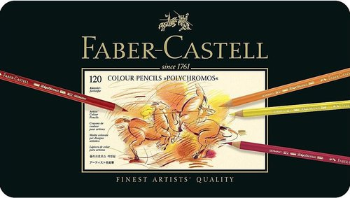 Faber-Castell Polychromos Künstlerfarbstifte 120er Metalletui