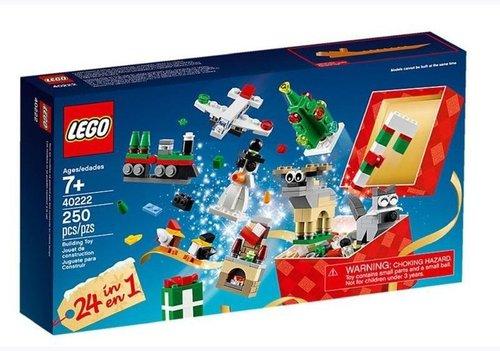 LEGO 24-In-1 Weihnachtlicher Bauspass Adventkalender (2016)
