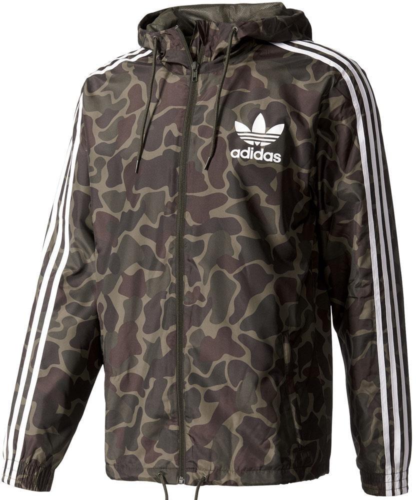 Adidas NEO Windbreaker Herren Windjacke Jacke mit Kapuze
