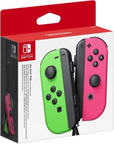 Nintendo Switch Joy-Con 2er-Set neon-grün/neon-pink