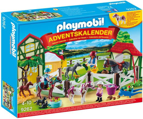 Playmobil Reiterhof Adventskalender (9262)