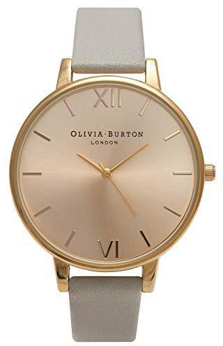 Olivia Burton Big Dial Grey/Gold