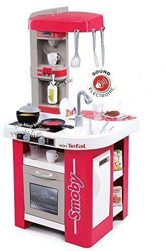 Spielküche 48 x 46,5 x 99 cm V02174 Smoby 311022 Tefal Studio Küche Rot