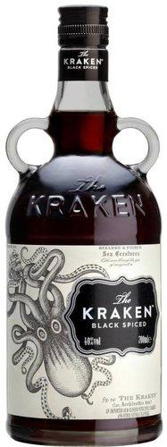 The Kraken Black Spiced Rum 47% 1l