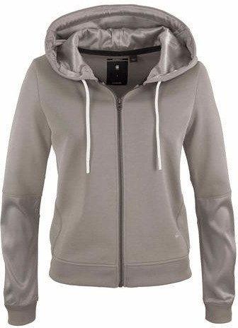 G-Star Craia Fyx Biker Hooded Zip Sweater mercury