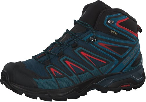 Salomon X Ultra 3 Mid GTX castor grayblackgreen sulphur ab