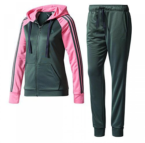 Adidas Re-Focus Trainingsanzug Damen tactile green/rose