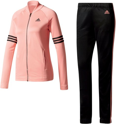 Adidas Cosy Trainingsanzug Damen tactile rose/black