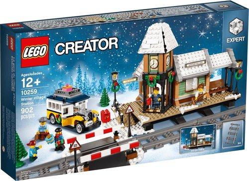 LEGO Creator Winterlicher Bahnhof (10259)