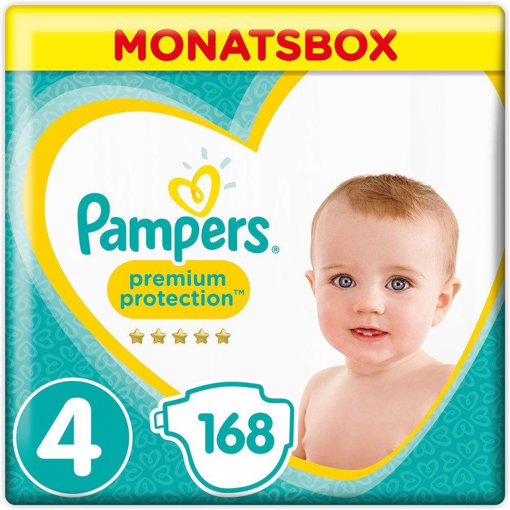 Monatsbox Gr 1er Pack 8 17+ kg 1 x 100 Stück Pampers Baby-Dry Windeln