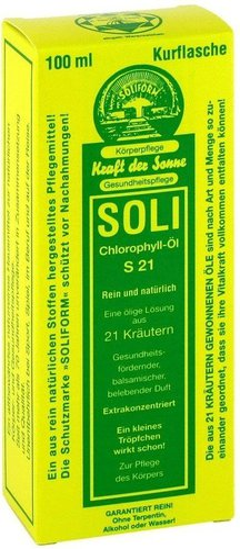Soliform Soli-Chlorophyll-Öl S 21 (100ml)