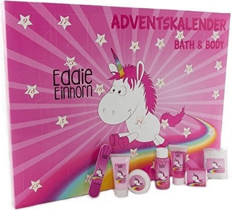 Accentra Bath & Body Eddie Einhorn Adventskalender (2017)