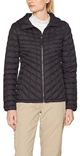 online retailer eac28 956af The North Face Damen Thermoball Kapuzenjacke tnf black matte