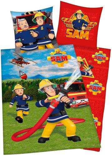 Feuerwehrmann Sam Bettwäsche Günstig Online Kaufen Bei Preisde