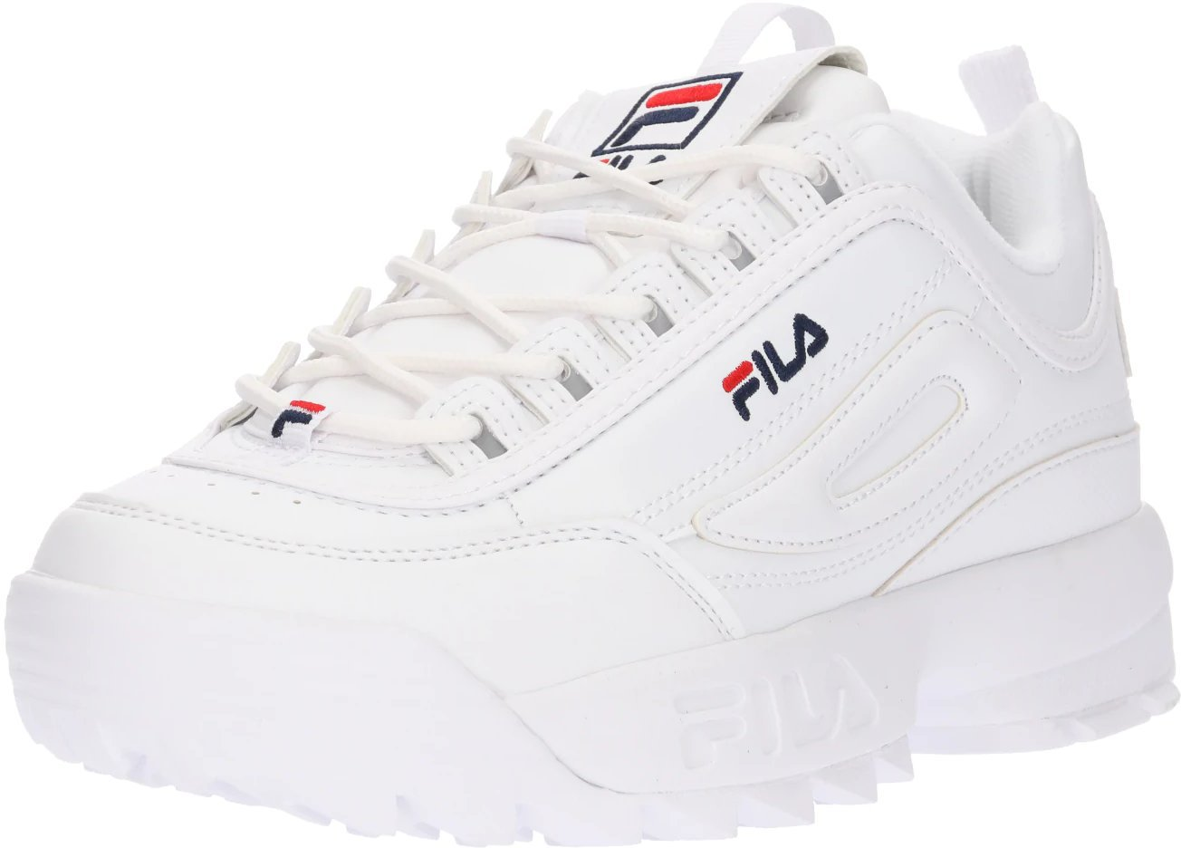 Fila Disruptor Low W white