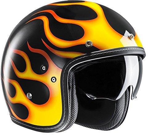 HJC FG-70S Aries schwarz/orange MC3