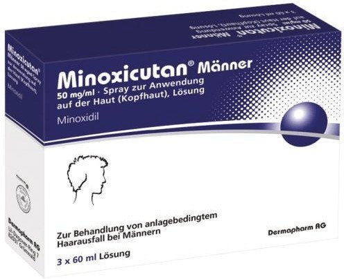 Dermapharm Minoxicutan Männer 50 mg/ml Spray (180ml)
