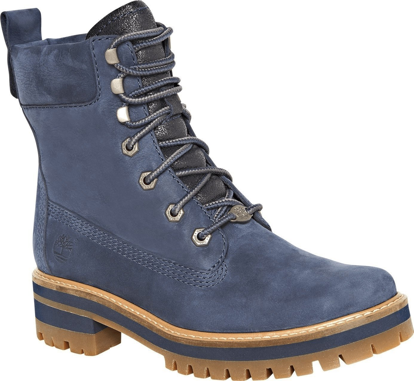 Timberland W Courmayeur Valley Lace Up Boot dark blue earthybuck with navy charred suede