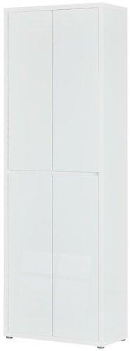 HMW Möbel Mehrzweckschrank Cabino 70x211x34cm weiß