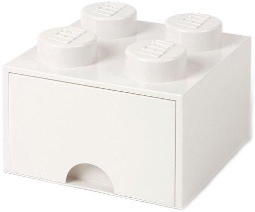 Room Copenhagen LEGO Brick Schublade 4 Knöpfe weiß