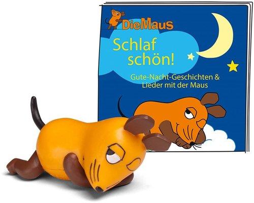 Tonies Hörspiel-Figur - Die Maus - Schlaf Schön! - Gute-Nacht-Geschichten & Lieder mit der Maus