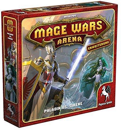 Pegasus Mage Wars Arena - Paladin vs. Sirene