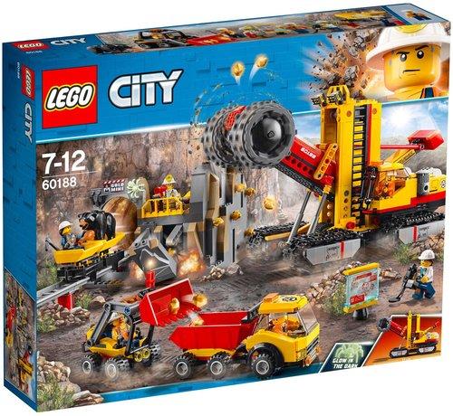 LEGO City Bergbauprofis an der Abbaustätte (60188)