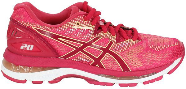 Asics Gel-Nimbus 20 Women bright rose/bright rose/apricot ice