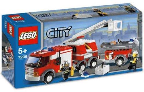 LEGO 7239 Feuerwehrlöschzug