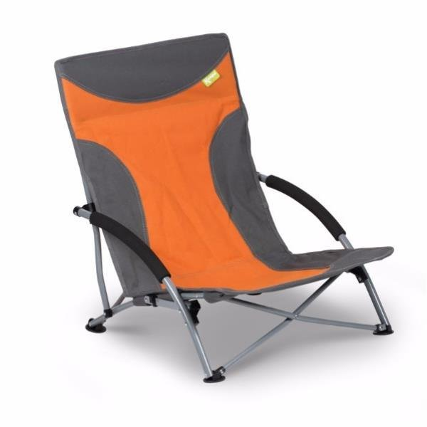 Campingstuhl faltbar Camping 100kg Traglast Strandstuhl mit breiten Standfüßen
