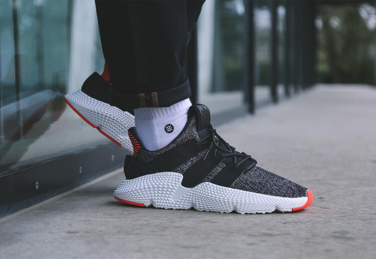 sells online retailer another chance Adidas Prophere core black/core black/solar red