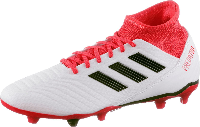 Adidas Predator 18.3 FG footwear whitecore blackreal coral