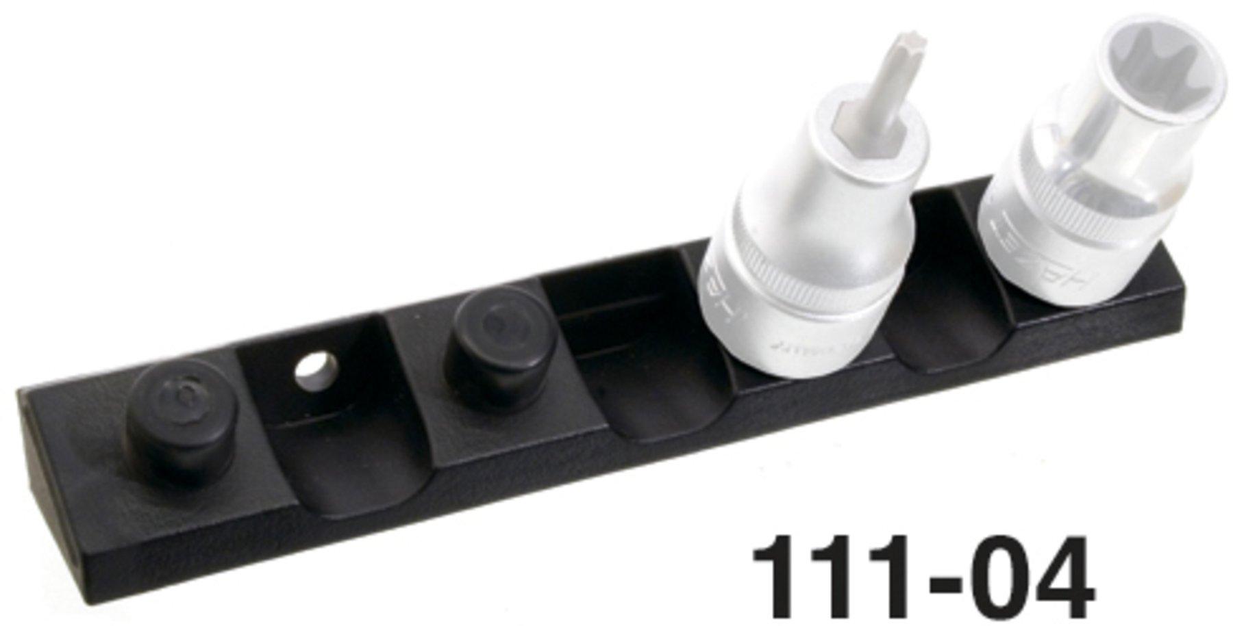 75mm KS TOOLS Werkzeughalter mit senkrechtem Hakenende Ø 6mm