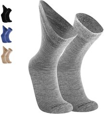 2 Paar Damen Socken dicke Wollsocken 40/% Alpaka 52/% Wolle natur braun 35 bis 42