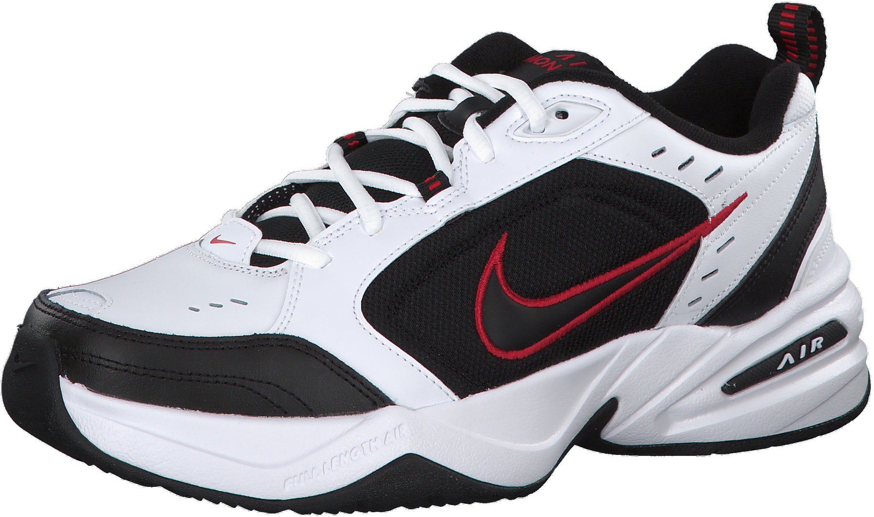 Nike Air Monarch IV whiteblackvarsity red